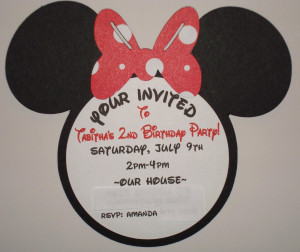 Here are quotes lists related to Minnie Mouse Birthday Invitations and ...
