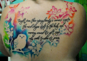 Mary Wollstonecraft quote. I think this is the most beautiful tattoo I ...