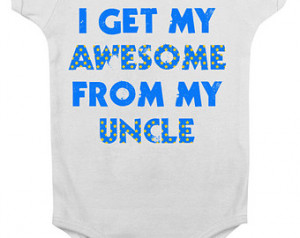 uncle onesie funny uncle onesie i love my uncle onesie aunt and uncle ...
