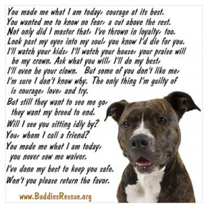 CafePress > Wall Art > Posters > Only Thing, Pit Bull Poster