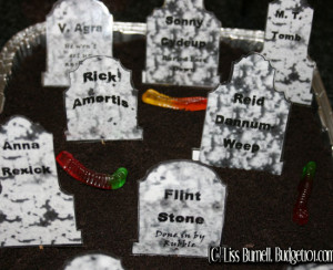... sayings and epitaphs. These make lovely additions to your haunted