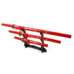 Red Samurai Sword Set