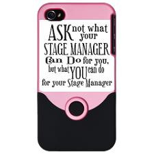 Ask Not Stage Manager iPhone 4 Slider Case for