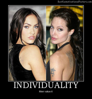 Individuality-Best-Demotivational-Poster