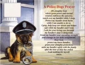 Police Dogs Prayer