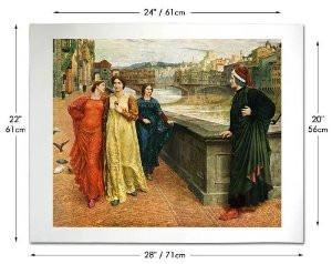 Dante and Beatrice Print