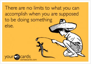 There are no limits to what you can accomplish when you are supposed ...