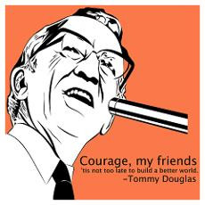 Tommy Douglas Poster