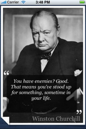 ... where is our winston churchill now that we need him more than ever