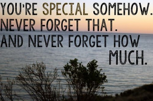 ... that. And never forget how much.