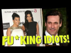 ... Hamm slams Kim Kardashian and Paris Hilton for being stupid [QUOTES