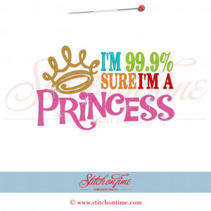 99.9% I'm a Princess