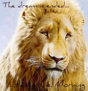 Aslan Narnia Quotes Aslan quote by