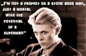 David Bowie Bowie quotes