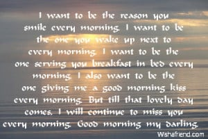 cute poems for him to wake up to
