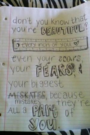 your beautiful no matter what