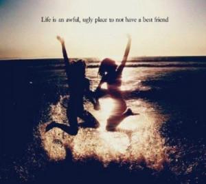 beach, best friend, life, quote, sarah dessen, ugly place