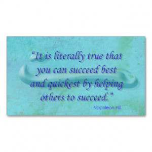 Inspirational Quotes Business Cards, Inspirational Quotes Business ...