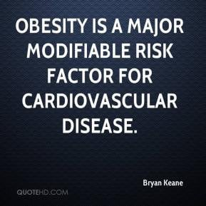 Obesity is a major modifiable risk factor for cardiovascular disease