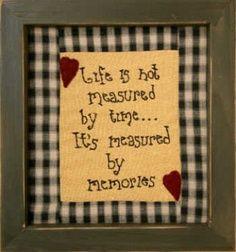 memories quote   Look around!