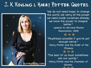 Rowling Quotes...
