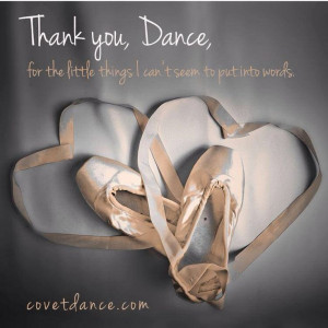 Thank You Dance Quotes