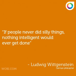 Ludwig Wittgenstein quote