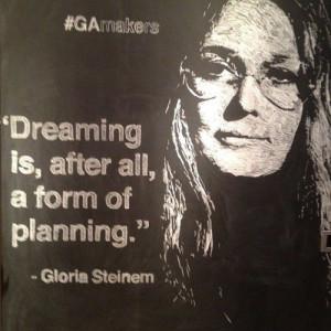 Gloria Steinem -