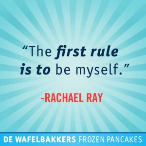 Rachael Ray #quote