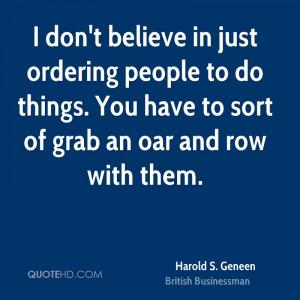 Harold S. Geneen Quotes