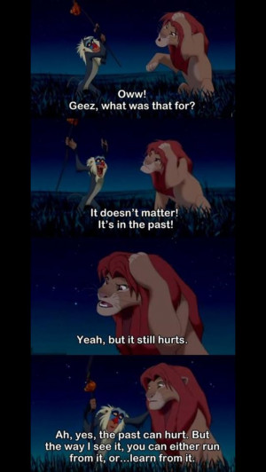 Lion king in the real world