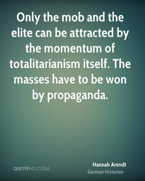 Only the mob and the elite can be attracted by the momentum of ...