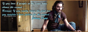 Johnny Depp Quote about love