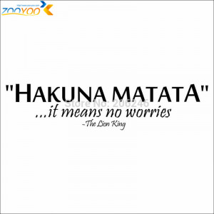 the-lion-king-art-movie-quote-wall-decal-zooyoo8211-home-decoration ...