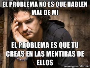 Ricardo Arjona - el problema no es que hablen mal de mi el problema es ...