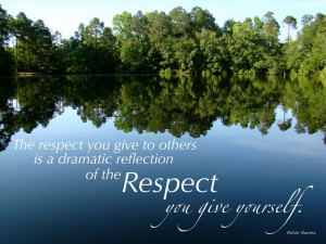 Respect Quote, Baeplext Family Martial Arts