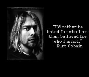 Kurt cobain quotes and sayings
