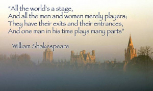 this famous monologue from shakespeare s as you like it eludes to the ...