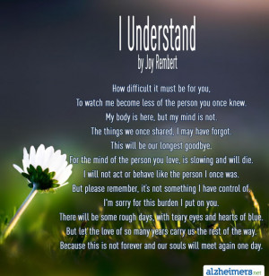 Understand By Joy Rembert