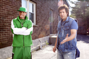 Vanilla Ice stars as Himself and Adam Sandler stars as Donny Berger in ...