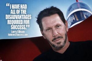 Larry Ellison Entrepreneur Picture Quote For Success