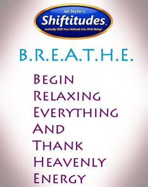 Want to change your life? Breathe and be grateful!