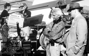 Nick Nolte and Lee Tamahori in Mulholland Falls (1996)