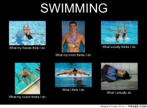 Funny Swimming Memes