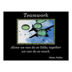 Inspirational Teamwork Quotes Gifts