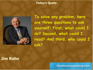 Jim Rohn Quotes Personal Development Jim rohn: solving problems