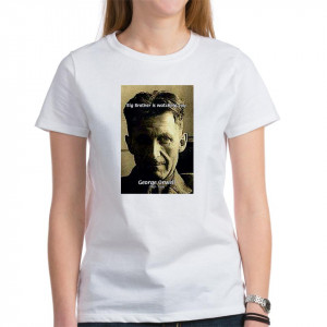 1984 Big Brother Famous Art Science Quotes Poster T Shirt Gift Shop