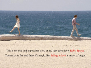 Ruby Sparks quote