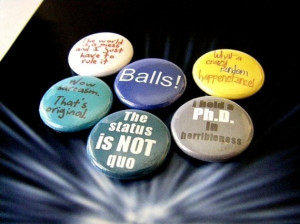 Dr Horrible Quotes - Dr Horrible's Sing-Along Blog Six Button Set