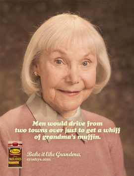 Hilarious Molasses Ads With Sexy Grandmas Heat Up Your Kitchen (PHOTOS ...